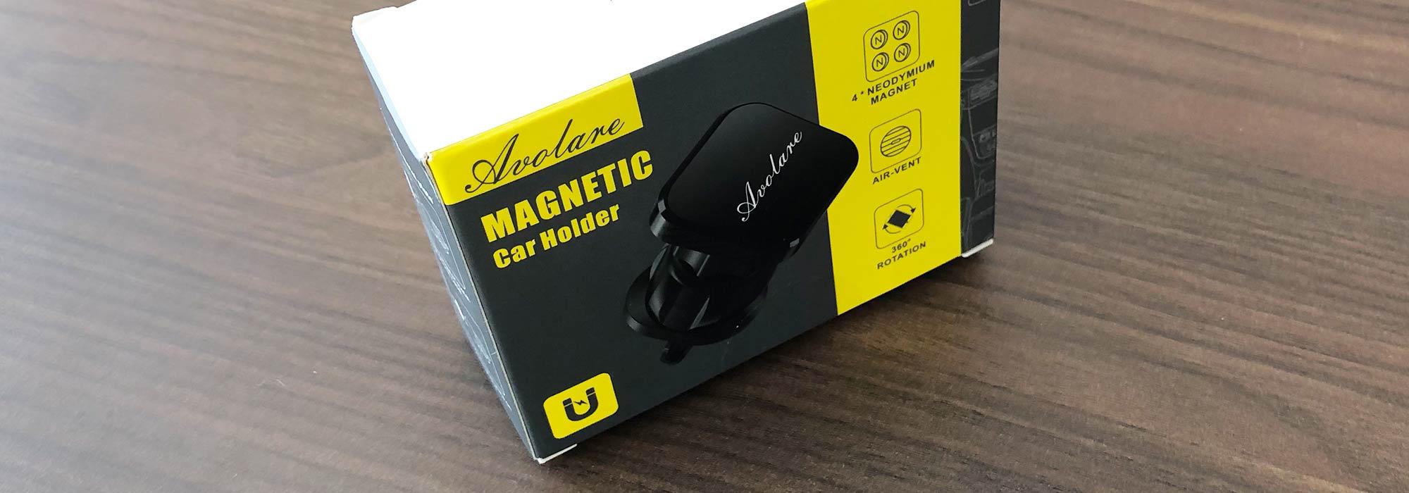 Magnetische Handyhalterung von Avolare im Test