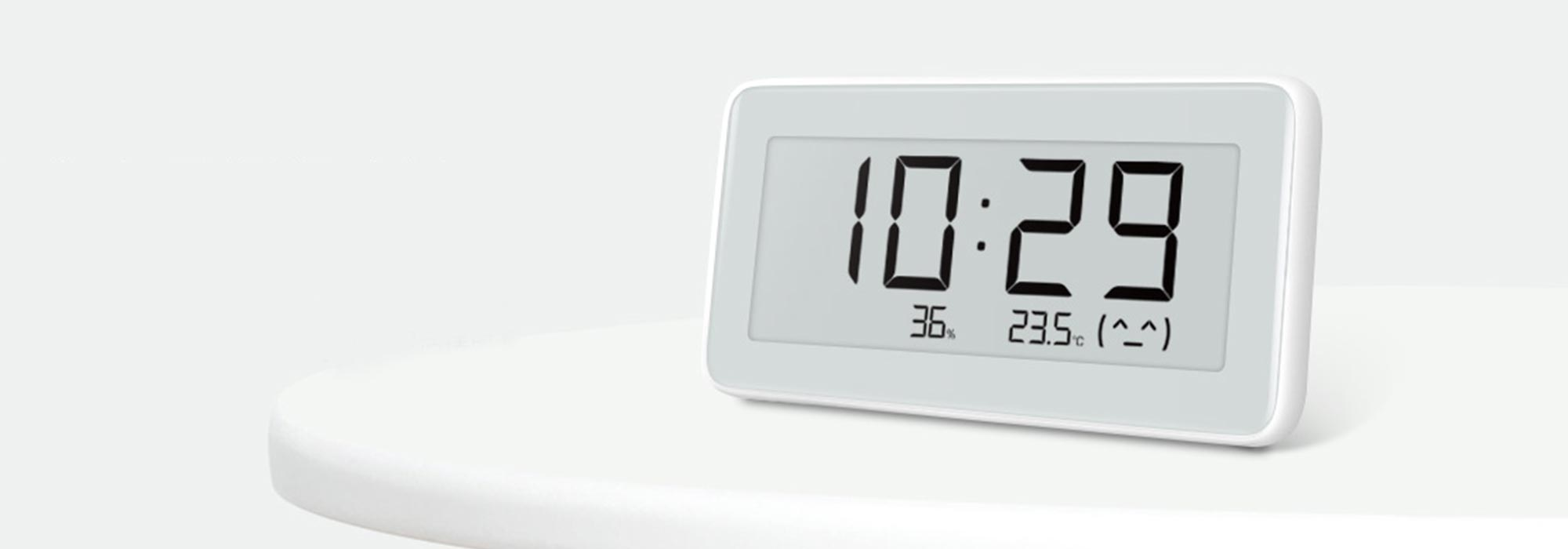 Im Test: Xiaomi Mijia Smart Hygrometer Clock