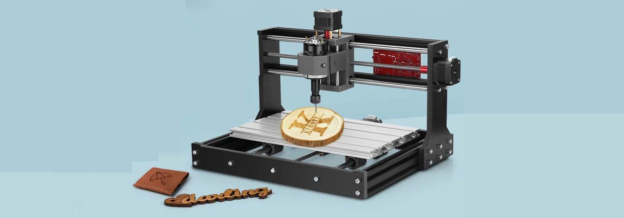 Alfawise C10 Pro: CNC Graviermaschine mit Laser-Funktion im Test